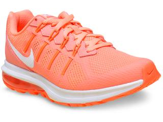 Tênis Feminino Nike 819154-600 Air Max Dynasty Msl  Laranja Neon - Tamanho Médio