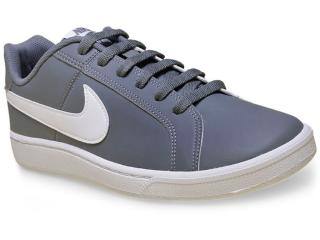 Tênis Masculino Nike 749747-011 Court Royale Cinza/branco - Tamanho Médio