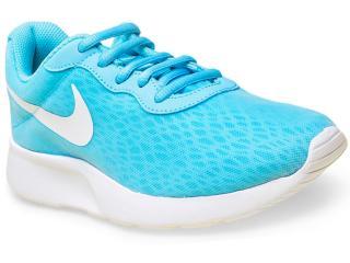 Tênis Feminino Nike 833677-410 Tanjun br Azul/branco - Tamanho Médio
