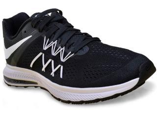 Tênis Masculino Nike 831561-001 Air Zoom Winflo 3  Preto/grafite/branco - Tamanho Médio