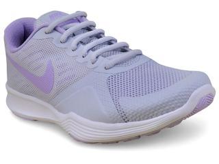 Tênis Feminino Nike 909013-005 City Trainer Cinza Claro/lilas - Tamanho Médio