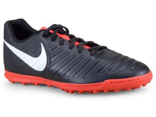 Tênis Masculino Nike Ah7248-006 Tiempo Legendx 7 Club Preto/vermelho/branco - Tamanho Médio