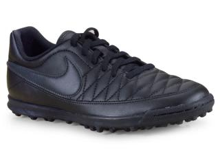 Tênis Masculino Nike Aq7901-001 Majestry tf  Preto - Tamanho Médio