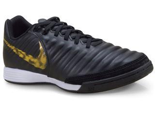 Tênis Masculino Nike Ah7244-077 Legendx 7 Academy ic Preto/dourado - Tamanho Médio