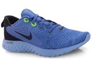 Tênis Masculino Nike Aa1625-406 Legend React Azul/preto - Tamanho Médio