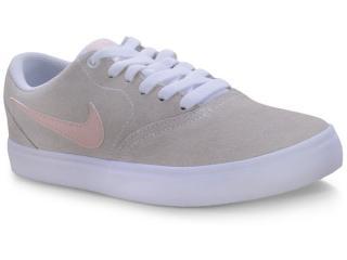 Tênis Feminino Nike Bq3240-100 Wmns sb Check Solar Bege/rose/branco - Tamanho Médio
