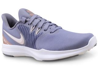 Tênis Feminino Nike Aa7774-002 in Season tr 8 Premium Cinza/bege - Tamanho Médio
