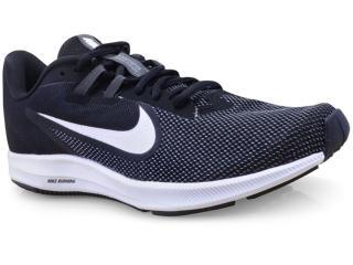 Tênis Masculino Nike Aq7481-002 Downshifter 9 Preto/branco - Tamanho Médio