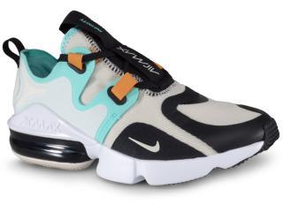Tênis Feminino Nike Bq4284-002 Wmns Air Max Infinity Bege/verde - Tamanho Médio
