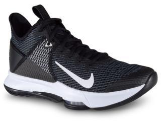 Tênis Masculino Nike Bv7427-001 Lebron Witness iv Preto/branco - Tamanho Médio