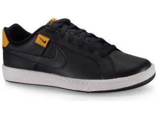 Tênis Masculino Nike Cj9263-002 Court Royale Tab Preto/branco - Tamanho Médio