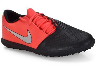 Tênis Masculino Nike Ao0579-606 Phantomvnm Club tf Preto/vermelho - Tamanho Médio