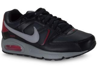 Tênis Masculino Nike Cd0873-001 Air Max Command Preto/vinho - Tamanho Médio