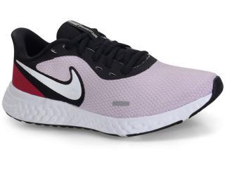 Tênis Feminino Nike Bq3207-501 Revolution 5 Rosa/preto - Tamanho Médio