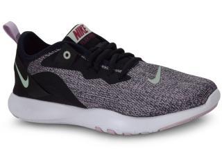 Tênis Feminino Nike Aq7491-008 Flex Trainer 9 Preto/lilas - Tamanho Médio