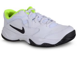 Tênis Masculino Nike Ar8836-107 Court Lite 2 Branco/preto - Tamanho Médio