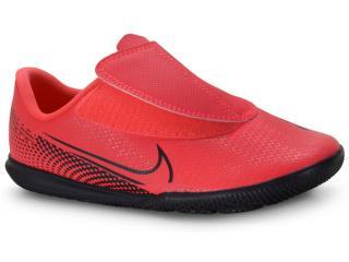 Tênis Masc Infantil Nike At8170-606 Mercurial Vapor 13 Club Coral/preto - Tamanho Médio