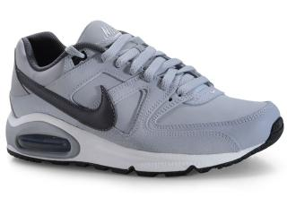 Tênis Masculino Nike 749760-012 Air Max Command Leather Shoe Cinza/grafite - Tamanho Médio