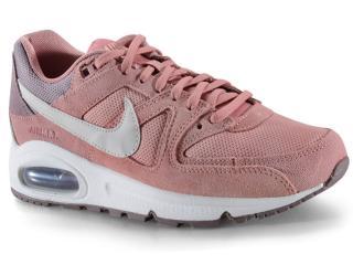 Tênis Feminino Nike 397690-600 Air Max Command Rose/branco - Tamanho Médio