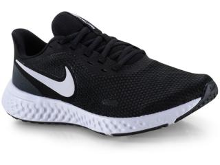 Tênis Feminino Nike Bq3207-002 Revolution 5 Preto/branco - Tamanho Médio