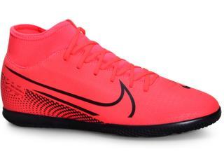 Tênis Masculino Nike At7979-606 Mercurial Superfly 7 Club ic Coral/preto - Tamanho Médio