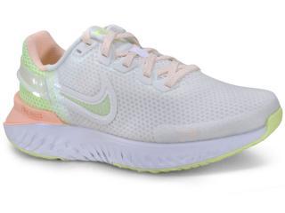 Tênis Feminino Nike Ck2562-100 Legend React 3 Branco/pêssego - Tamanho Médio