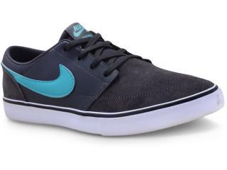 Tênis Masculino Nike 880266-012 sb Solar Soft Portmore ii  Grafite/branco/verde - Tamanho Médio