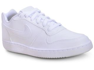 Tênis Masculino Nike Aq1775-100 Ebernon Low Branco - Tamanho Médio