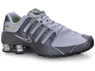 Tênis Masculino 378341-009 Nike Shox nz Shoe Cinza/grafite - Tamanho Médio
