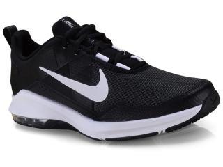 Tênis Masculino Nike At1237-001 Air Max Alpha Preto/branco - Tamanho Médio
