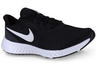Tênis Masculino Nike Bq3204-002 Revolution 5 Preto/branco - Tamanho Médio