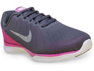 Tênis Feminino Nike 852449-003 in Season tr 6  Grafite/pink - Tamanho Médio