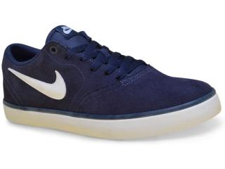 Tênis Masculino Nike 843895-400 sb Check Solarsdft Marinho - Tamanho Médio