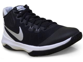 Tênis Masculino Nike 852431-001 Air Versatile Basketball  Preto/branco - Tamanho Médio