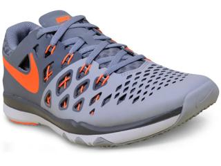 Tênis Masculino Nike 843937-007 Train Speed 4 Cinza/laranja - Tamanho Médio