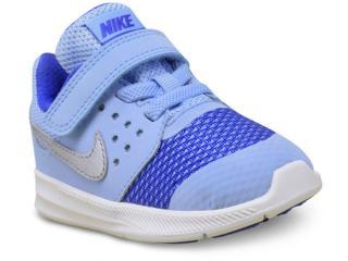Tênis Masc Infantil Nike 869971-400 Downshifter 7  Azul - Tamanho Médio
