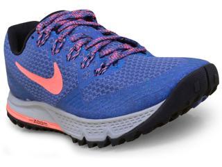 Tênis Feminino Nike 749337-403 Wmns Air Zoom Wildhorse 3 Azul - Tamanho Médio