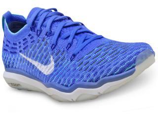 Tênis Feminino Nike 850426-400 w Air Zoom Fearless Flyknit Azul - Tamanho Médio