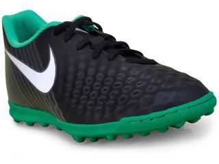 Tênis Masculino Nike 844408-002 Magistax Ola ii Preto/verde - Tamanho Médio