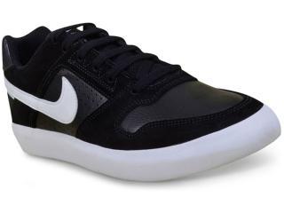 Tênis Masculino Nike 942237-010 Delta Force Vulc Skateboarding  Preto/branco - Tamanho Médio