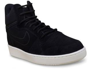 Tênis Masculino Nike 844884-007 Court Borough Mid Preto - Tamanho Médio