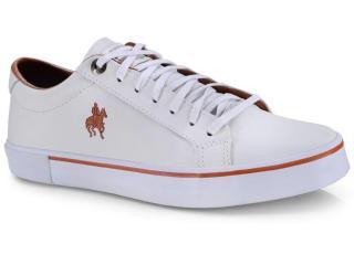 Tênis Masculino Polo Bhpf225 Branco - Tamanho Médio