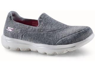 Tênis Feminino Skechers 15733 Gry go Walk Evolution Ultramaze Cinza - Tamanho Médio