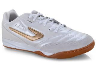 Tênis Masculino Topper 42036151711 Top Maestro td ii Fsal Branco/dourado - Tamanho Médio