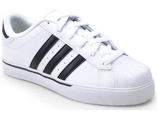Tênis Uni Infantil Adidas G66451 Bbneo Classic Branco/preto - Tamanho Médio