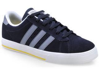 Tênis Masculino Adidas F39074 se Dayly v Sued Marinho/branco - Tamanho Médio