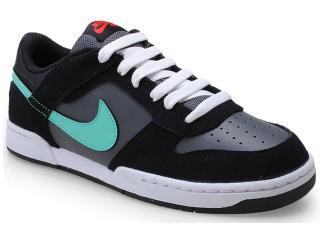 Tênis Masculino Nike 454291-030 Renzo 2 Preto/chumbo/verde Agua - Tamanho Médio