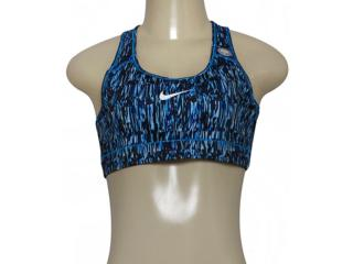 Top Feminino Nike 802898-435 Victory Sports  Azul/preto - Tamanho Médio