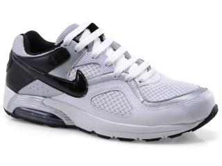 Tênis Masculino Nike 418115-113 Air Max go Strong Branco/preto/prata - Tamanho Médio