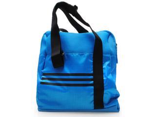 Bolsa Feminina Adidas F78518 Shoul Cool Trg Graf g w Azul/preto - Tamanho Médio